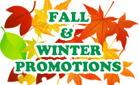 Fall Winter Promotions